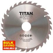 Titan TCT Circular Saw Blade 30T 165 x 16/20/30mm