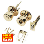 ERA Lever Type A Door Handle Brass Pack 67mm