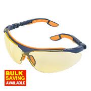 Uvex I-VO Amber Lens Safety Specs