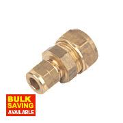 Brass C x C Couplings 15mm x 8mm