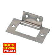 Flush Hinge Self-Colour 51 x 25mm Pack of 2