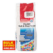 Mapei BuildFix Flexible Wall & Floor Grout Charcoal 2.5kg