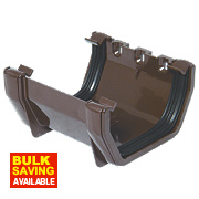 FloPlast RUS1 Square Line Union Bracket Brown 114mm