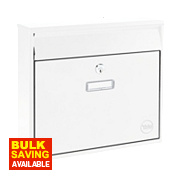 Yale Ohio Post Box White Satin