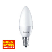 Philips LED Candle Lamp Frosted SES 4W