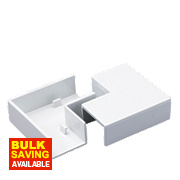 Flat Angle 25 x 16mm Pack of 2