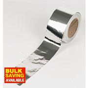 Aluminium Foil Tape Silver / Aluminium 96mm x 45m
