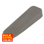 Rubber Door Wedges Grey Pack of 5