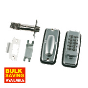 Securefast Mechanical Light Duty Push Button Lock Tubular Latch