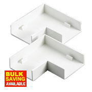 Flat Angle 38 x 16mm Pack of 2