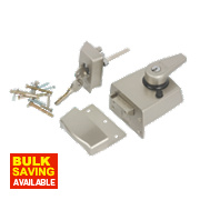 ERA BS Night Latch Satin Nickel 60mm