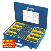 Silverscrew Woodscrews General Trade Case Double-Countersunk 1400Pcs