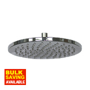 Moretti Fixed Ultra Slim Round Shower Head Chrome x 65mm