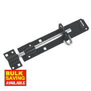 Brenton Gate Bolt Black 225mm