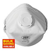 JSP BEB 130-201-074 Disposable Valved Dust Mask P3
