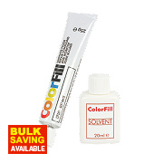 Colorfill Worktop Compound Soft White Pack of 2 Pcs