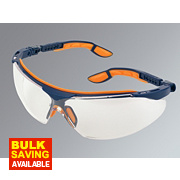 Uvex I-VO Clear Lens Safety Specs