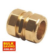 Pegler Prestex PX40 Straight Compression Couplings 15mm Pack of 5