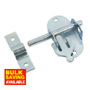 Oval Pad Bolt Zinc-Plated 100mm