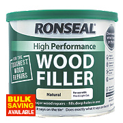 Ronseal High Performance Wood Filler Natural 550g