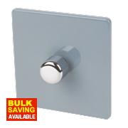 Varilight 1-Gang 2-Way Push Dimmer Switch 400W Sky Blue