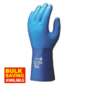 Showa 281 Temres Gauntlets Blue Large