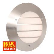 Memphis Stainless Steel Circular Wall Light 23W