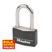 Master Lock Aluminium Padlock with Long Shackle 40mm