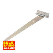 Medium Duty Tee Hinge Zinc-Plated 375mm Pack of 2