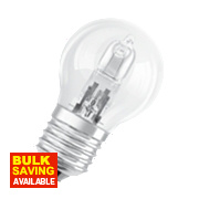 Osram Ball Halogen Lamp ES 30W