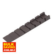 Brown Wedge Strips 1-8mm Pack of 50