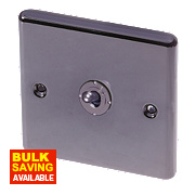 LAP 1-Gang 2-Way 10AX Toggle Switch Black Nickel