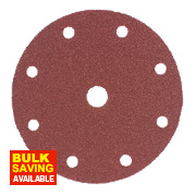 150mm Sanding Disc 60 Grit Pack of 10