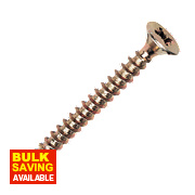 Goldscrew Plus Woodscrews Double-Self-Countersunk 4 x 16mm Pk200