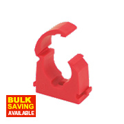 Talon Red Hinge Clip 22mm Pack of 20