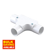 Tower Inspection Tee 20mm White Pack of 1