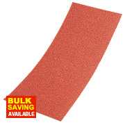 Sandpaper 1/2 Sheets 80 Grit Pack of 10