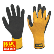 DeWalt Gripper Gloves Black / Yellow Large
