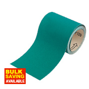 Oakey Liberty Green Sanding Roll 115mm x 5m 120 Grit