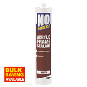 No Nonsense Acrylic Frame Sealant White 310ml