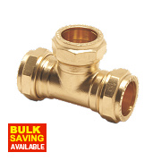 Pegler Prestex PX50 Compression Equal Tee 15mm