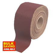 Flexovit Pro Alox Sanding Roll 115mm x 50m 120 Grit