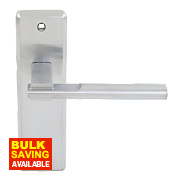 Jedo Delta TS007 Lever Door Handles Type B Pack Satin Chrome