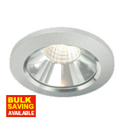LAP Fixed LED Downlight Kit 475Lm Brushed Chrome 6W 240V