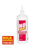 No Nonsense Weather Resistant PVA Wood Glue 1Ltr