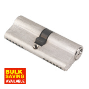 ERA 6-Pin Euro Cylinder Lock 40-40 (80mm) Satin Nickel