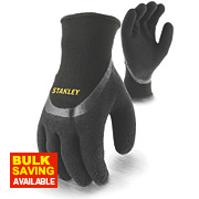 Stanley Winter Gloves In Glove Gripper Gloves Black Large