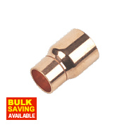 Flomasta End Feed Fitting Reducers 22 x 15mm Pack of 2