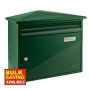 Yale Texas Post Box Green Satin Steel