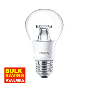 Philips LED GLS Lamp Clear ES 6W
